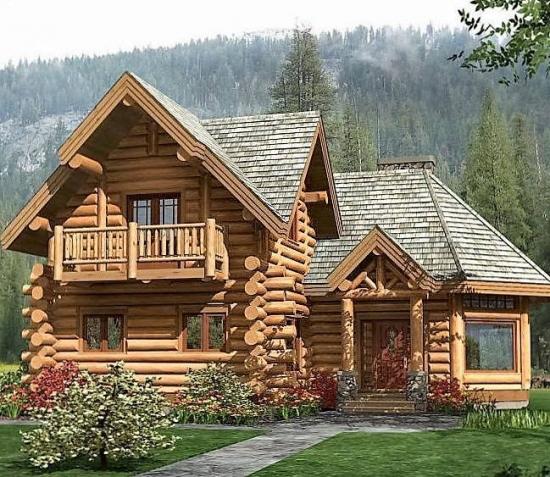 Casa din busteni la munte