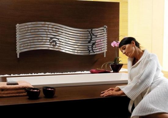 Calorifer cu forma si design modern