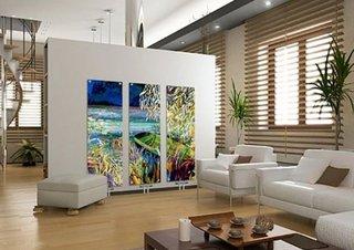Calorifere decorative personalizate tip tablou