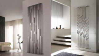 Calorifere verticale decorative din sticla