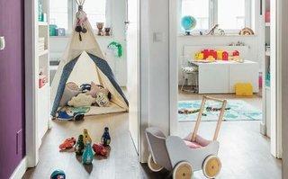 Camere alaturate a copiilor amenajate diferit
