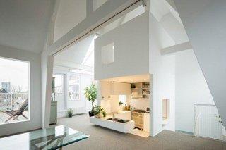 Mansarda locuibila transformata in apartament