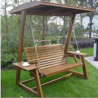 Model ieftin de leagande gradina din lemn