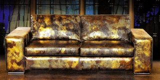 Canapea din piele in degradeuri