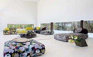Canapele cu modele decorative uimitoare pentru living