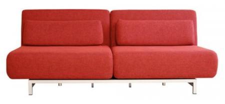 Canapea moderna cu structura si picioare metalice