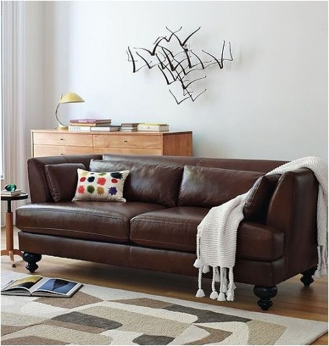 Cum sa asortezi canapeaua din piele maro sau neagra cu restul mobilei de sufragerie