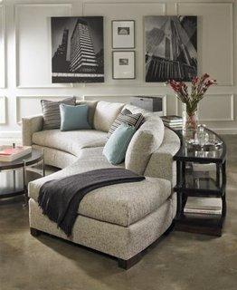 Canapea curbata moderna