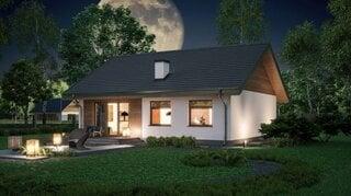 Casa mica cu parter si mansarda 3 dormitoare