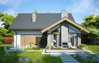 Casa cu terasa si gratar