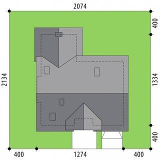Dimensiuni teren casa cu 4 dormitoare si living