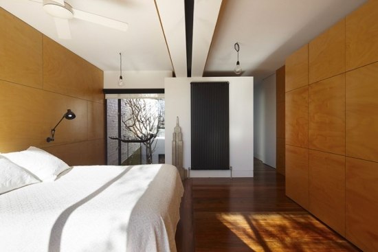 Decor minimalist contemporan in dormitor