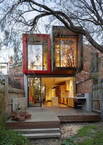 Fatada casa moderna ingusta