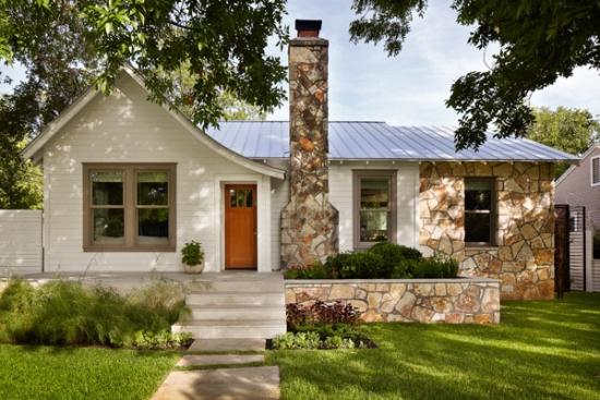 Casa batraneasca renovata - proiect de locuinta de vacanta