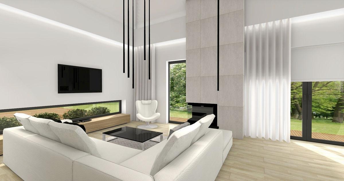 Canapea coltar alb foarte modern