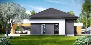 Casa moderna cu parter si 3 dormitoare