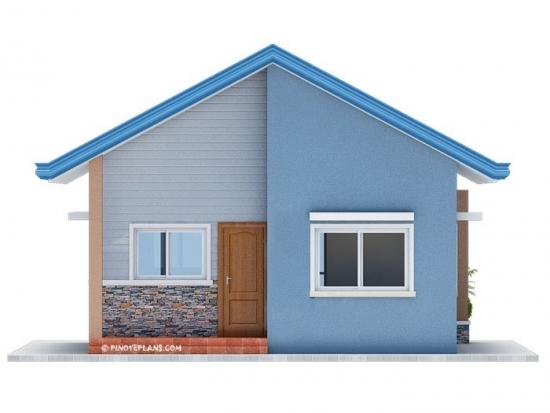Front anterior casa 80 mp