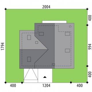 Dimensiuni teren casa P+M cu 3 dormitoare