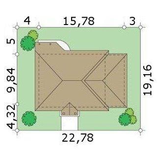 Dimensiuni teren casa cu pod