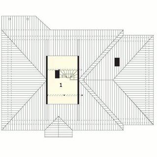 Plan pod casa cu garaj