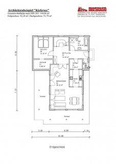 Plan parter casa de 144 mp