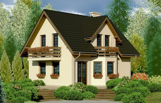 Casa eleganta cu 4 dormitoare