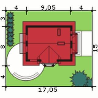 Dimensiuni teren casa cu 3 balcoane