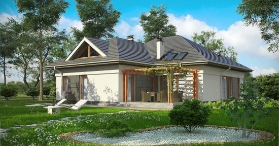 Casa cu 5 dormitoare, 3 bai si garaj dublu - proiect detaliat