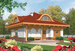 Casa cu arhitectura traditionala cu 4 dormitoare
