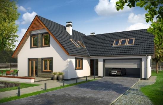 Casa cu garaj mare
