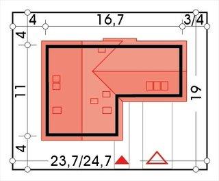 Forma casa cu 5 camere