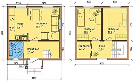 Schite casa de mici dimensiuni