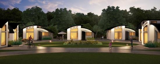 Cartier case construite din prefabricate