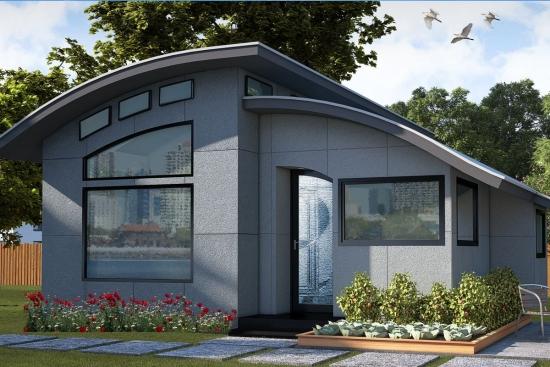 Casa parter suprafata 80 mp - proiect verde