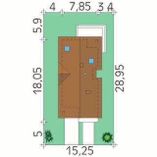 Dimensiuni teren casa ingusta