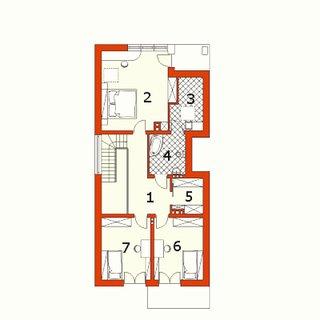 Plan mansarda casa ingusta