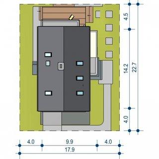 Dimensiuni teren casa cu 5 camere si dependinte