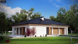 Casa cu forma patrata
