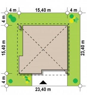 Dimensiuni teren casa patrata