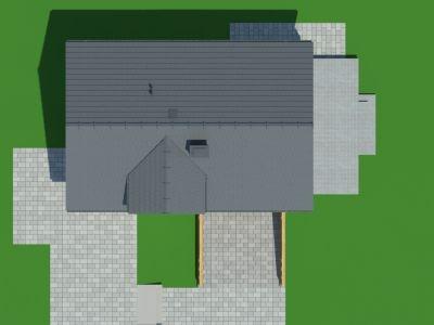 Forma casa cu subsol si mansarda