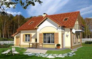 Casa cu mansarda si 4 dormitoare