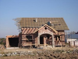 Constructie acoperis casa cu mansarda