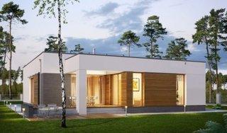 Casa moderna fara etaj