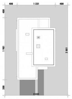 Dimensiui teren casa modern cu garaj