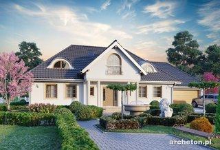 Casa cu gradina eleganta