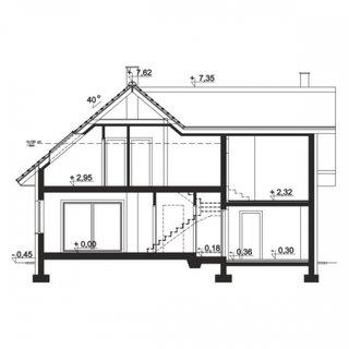 Plan vertical casa cu 6 camere