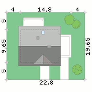 Dimensiuni teren casa cu garaj alipit