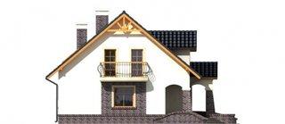 Vedere laterala casa