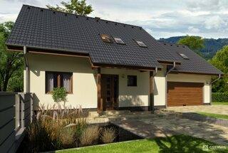 Casa cu mansarda si garaj atasat