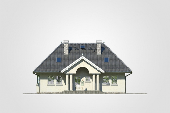 Fatada casa cu 4 dormitoare